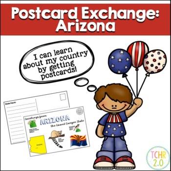State Postcard Arizona