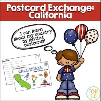 Postcard Exchange California