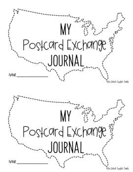 Postcard Exchange Booklet Freebie