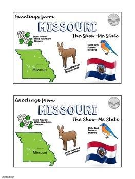 Postcard Exchange Missouri