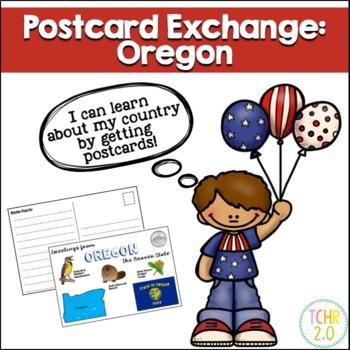 State Postcard Oregon