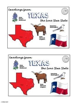 Postcard Exchange Texas