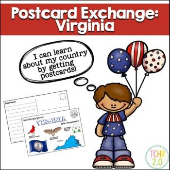 State Postcard Virginia