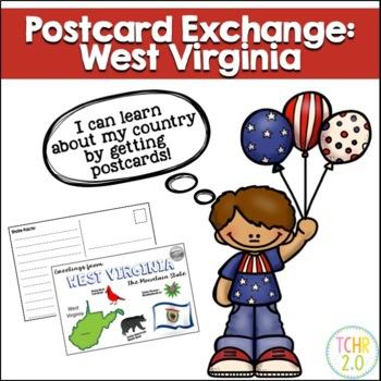 Postcard Exchange West Virginia
