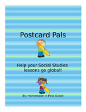 Postcard Pals - Editable!