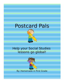 Postcard Pals - Editable!