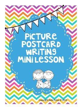 Postcard Picture Writing Mini Lesson