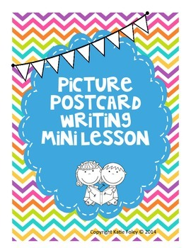 Postcard Picture Writing Mini Lesson