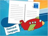 Postcard Template - editable