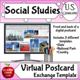 Postcard Template for Distance Learning on Google Slides