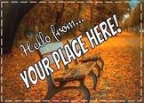 Postcard Template for Google Slides