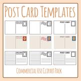 Postcard Templates Blank Mail / Post Card Clip Art / Clipa