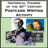 History Writing Activity Between Famous Historical Figures of the 20th Century