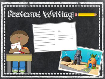 Postcard Writing Template