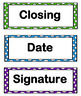 Postcard and Letter-Writing Templates
