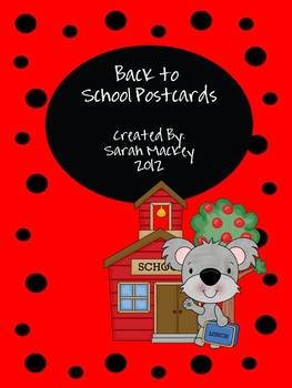 Postcards (Back to School)