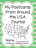 Postcards From Around the U.S.A Postcard Exchange Journal Pages