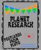 Postcards From Pluto Solar System Planet Research