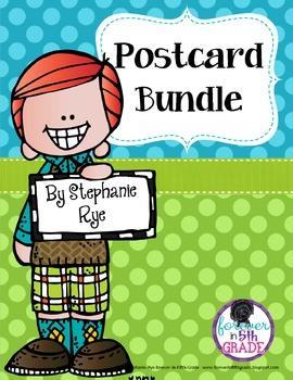 Postcards From Your Teacher (Editable)
