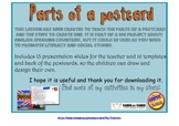 Postcards. Parts and how to write one.