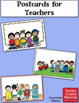 Postcards for Teachers by Karen's Kids (Digital Download)