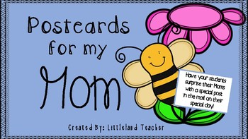 Postcards for my Mom
