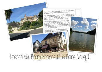 Postcards from France (Loire Valley): Reading Comprehension