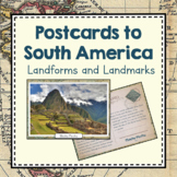 Postcards of South America Landmarks and Landforms