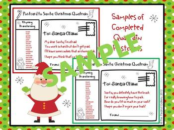 Postcards to the North Pole: Writing Quatrain Poetry