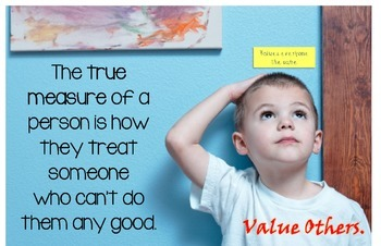 Poster #3: Teaching Kids to Value Themselves and Value Others