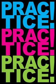 Poster #4 Practice....