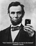 Poster Abraham Lincoln Reliable Sources