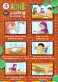 Poster - Adab of eating and drinking