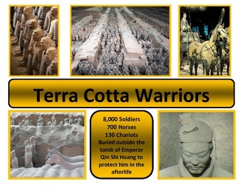 Poster - Ancient China - Terracotta Warriors