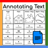 Poster: Annotating Informational Texts