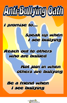 Poster: Anti-Bullying Pledge