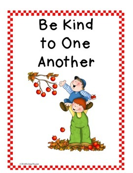 Poster and Bulletin Board: Be Kind to one Another