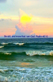 Poster - Be Still And Know I Am God