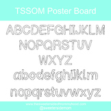 TSSOM Font Poster Board