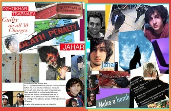 Dzhokhar Tsarnaev FREE POSTER Boston Marathon Terror Bombi
