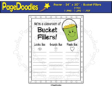 Bucket Fillers Poster - High Quality Vector Graphics