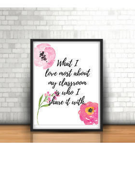 Poster Bundle, Classroom Decoration, Office Art, Wall Art