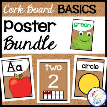 Poster Bundle - Cork Board Basics