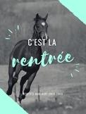 """Poster """"C'est la rentrée"""""""