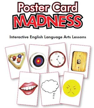 Poster Card Madness: Interactive ELA Lessons