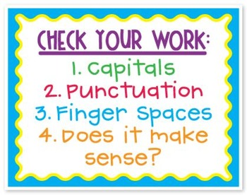 Poster: Check your work