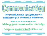 Poster: Communication