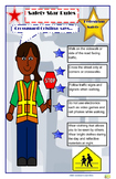 Poster:  Community Helper Pedestrian Safety Rules