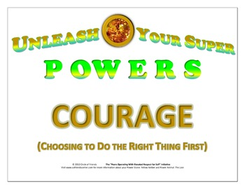 Poster - Courage (Various Sizes)