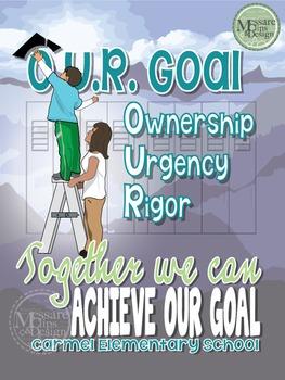 Poster - O.U.R. Goal - Custom Request {Messare Clips and Design}